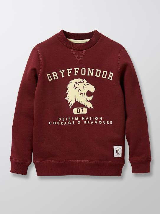 Sweat collection Harry Potter garçon Bourgogne