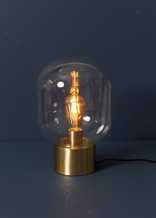 La Collection Automne-Maison-Lampe globe à poser