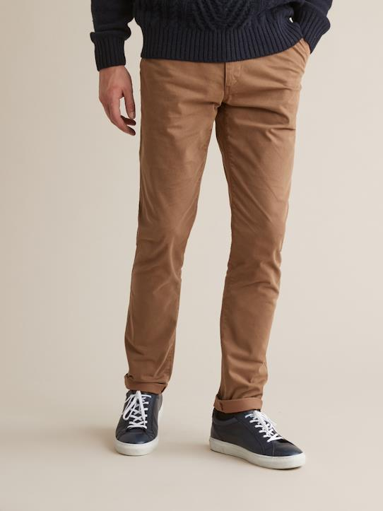 Chino Slim Fit homme Caramel+Kaki