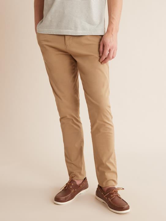 Homme-Pantalons, jeans-Chino Slim Fit light Max