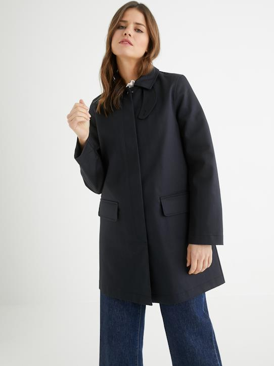 Femme-Manteaux, trenchs-Trench car coat femme