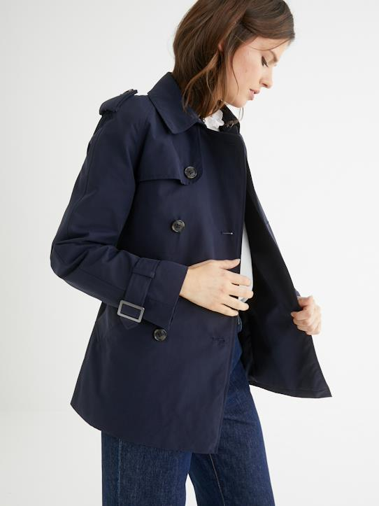 Femme-Manteaux, trenchs-Trench court femme