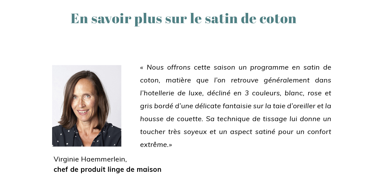 Technique de tissage du Satin de coton
