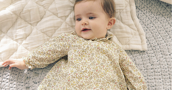 Lookbook bébé fille Cyrillus